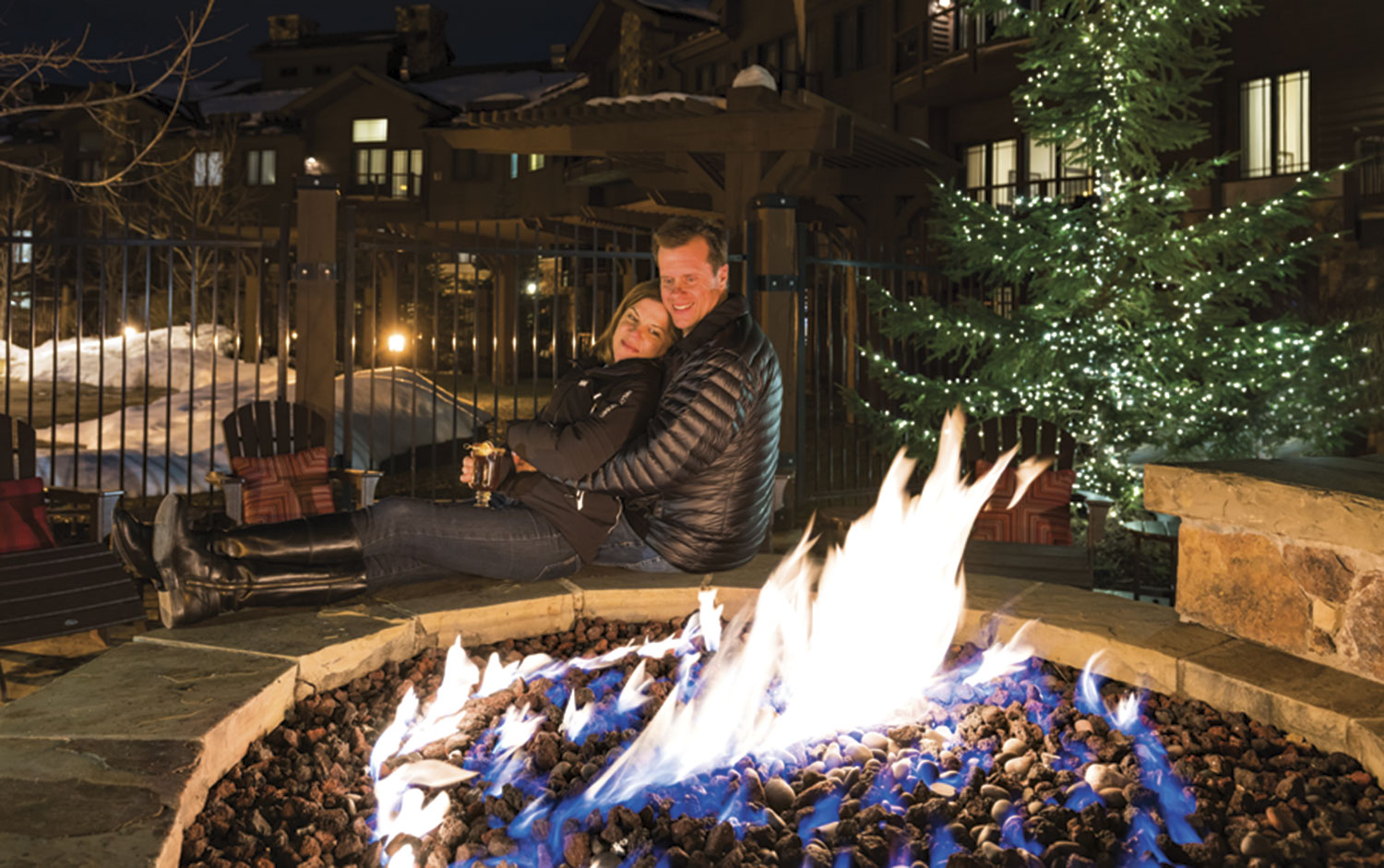 a cozy night at the Waldorf Astoria Park City