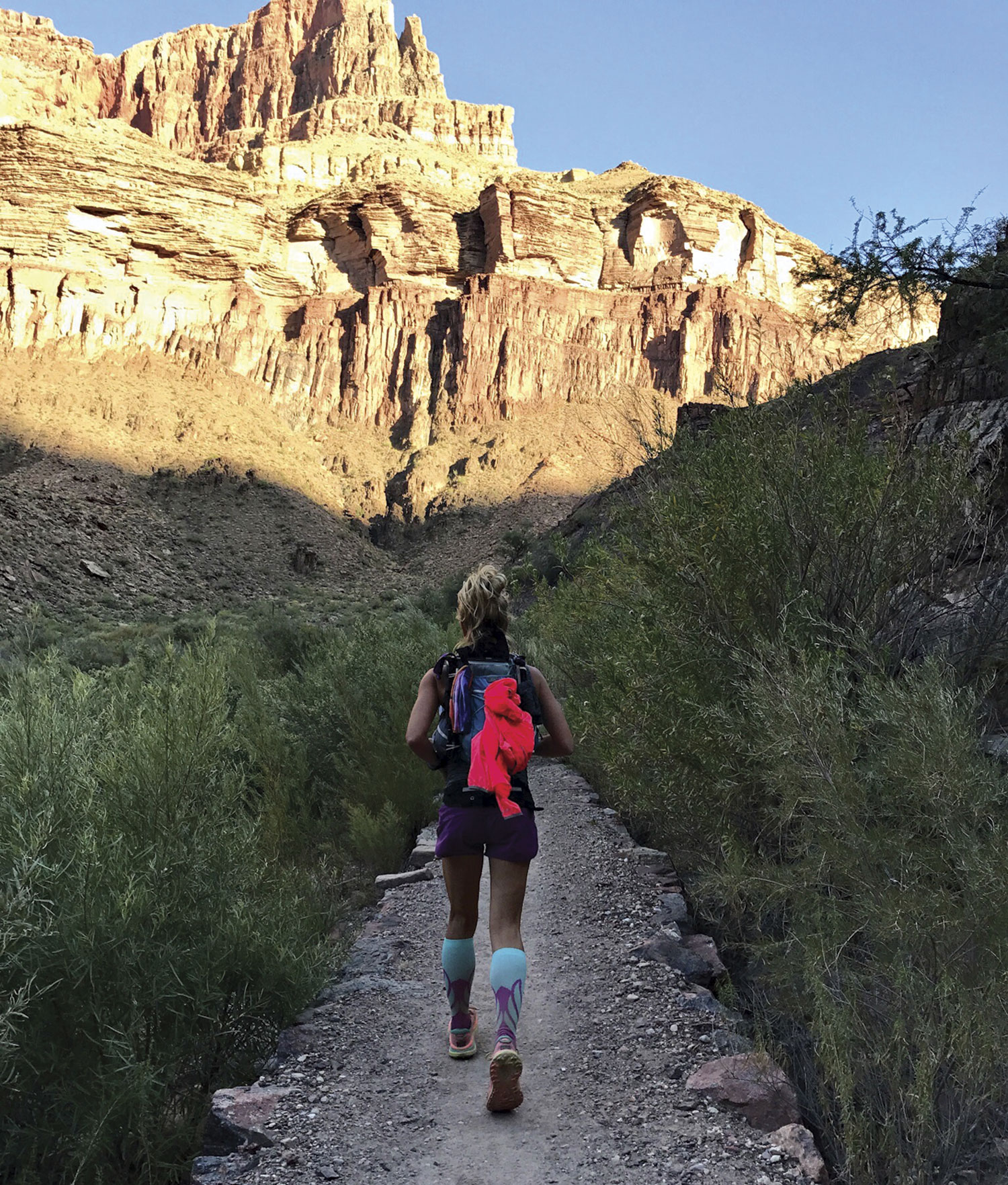 heading back to the South Rim