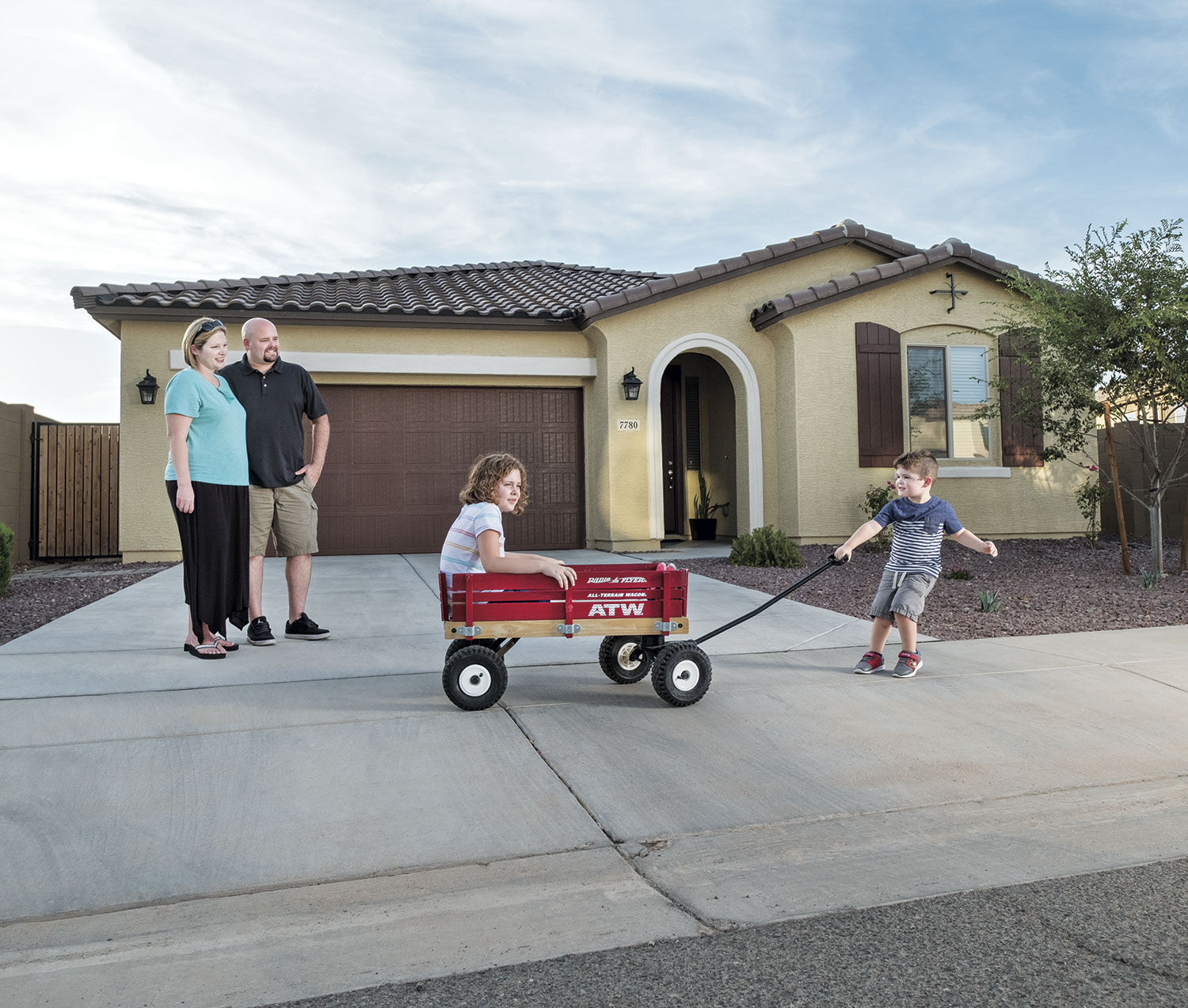 The Shields family of Laveen; photo by Carl Schultz