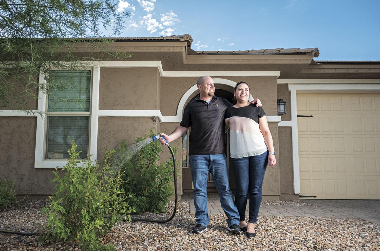 Gilbertians Jason and Cassandra Kidd; photo by Carl Schultz