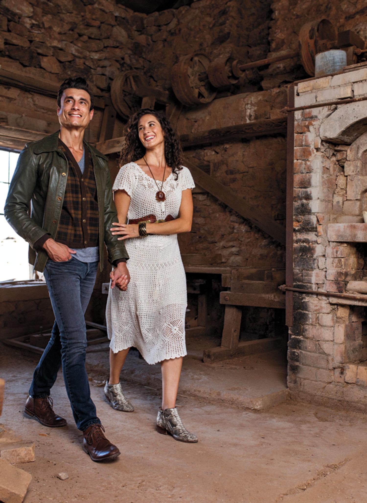 Photos by Blake Bonillas; models: Ashley Habermel; David Thompson; historic photo courtesy Arizona Historical Society