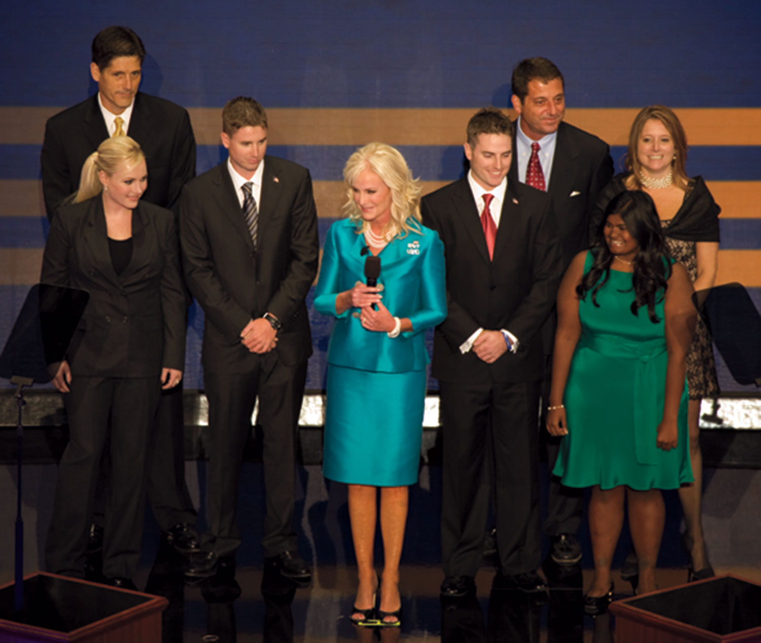 the McCain clan at the Republican National Convention, 2008