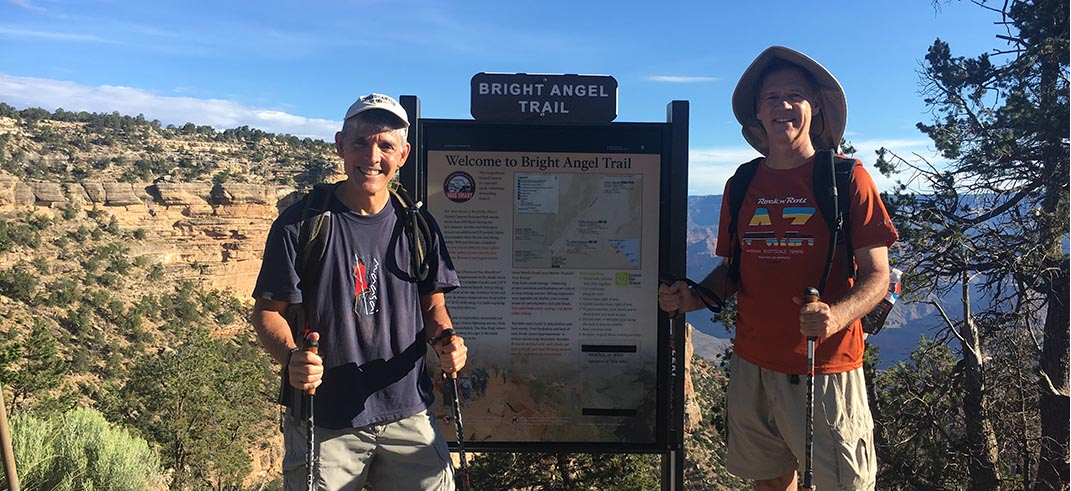 Michael Santeusanio, Phoenix AZ: Bright Angel Trail, Grand Canyon National Park