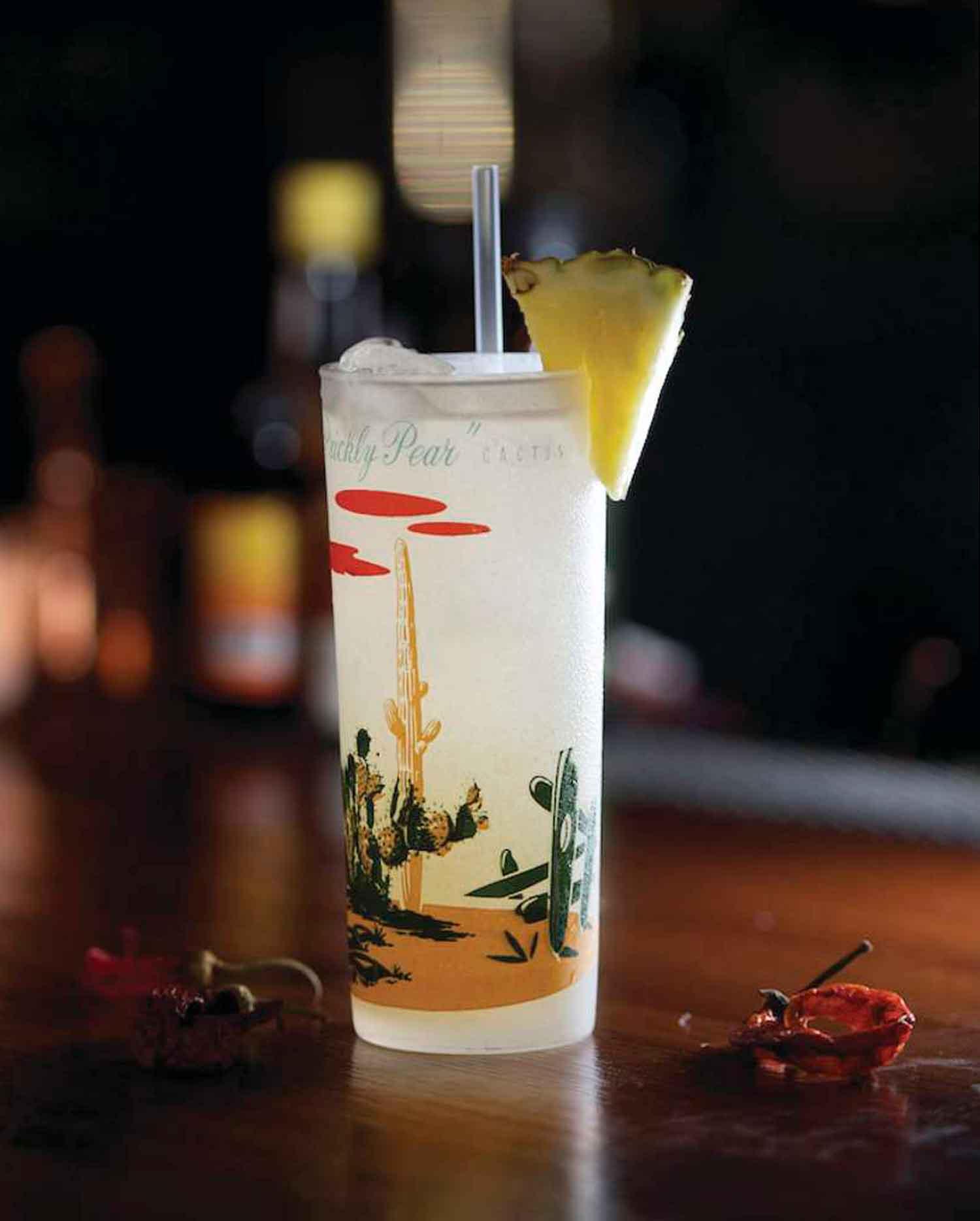 Agua Caliente cocktail