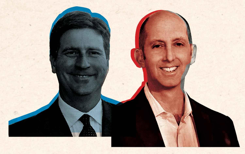 """Mayor Greg """"Can I Keep the City Car?"""" Stanton (D) and Dr. Steve """"Old Sea Dog"""" Ferrara (R)"""