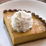 Recipe Friday: True Food Kitchen Squash Pie