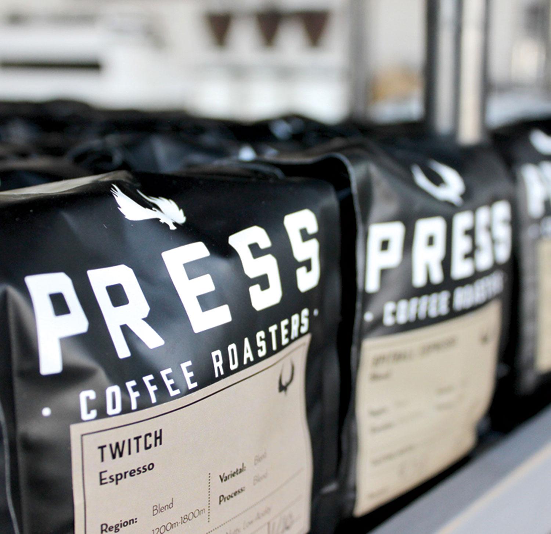Press Coffee; photos by Harper Speagle-Price