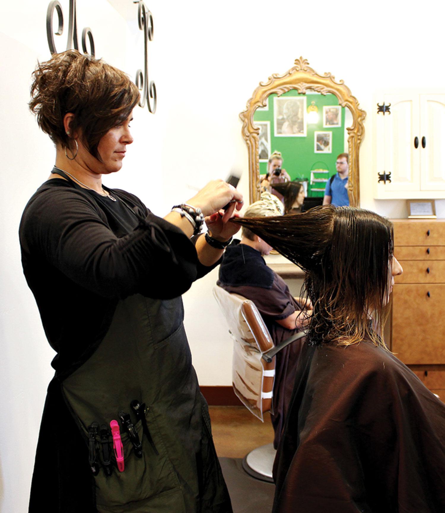 Leidan Mitchell Salon; photos by Harper Speagle-Price