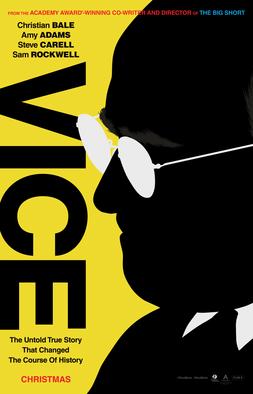 Vice 2018 film poster