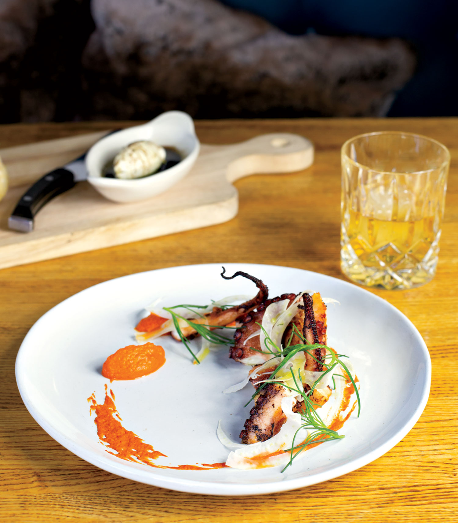grilled spanish octopus; photo by Debby Wolvos
