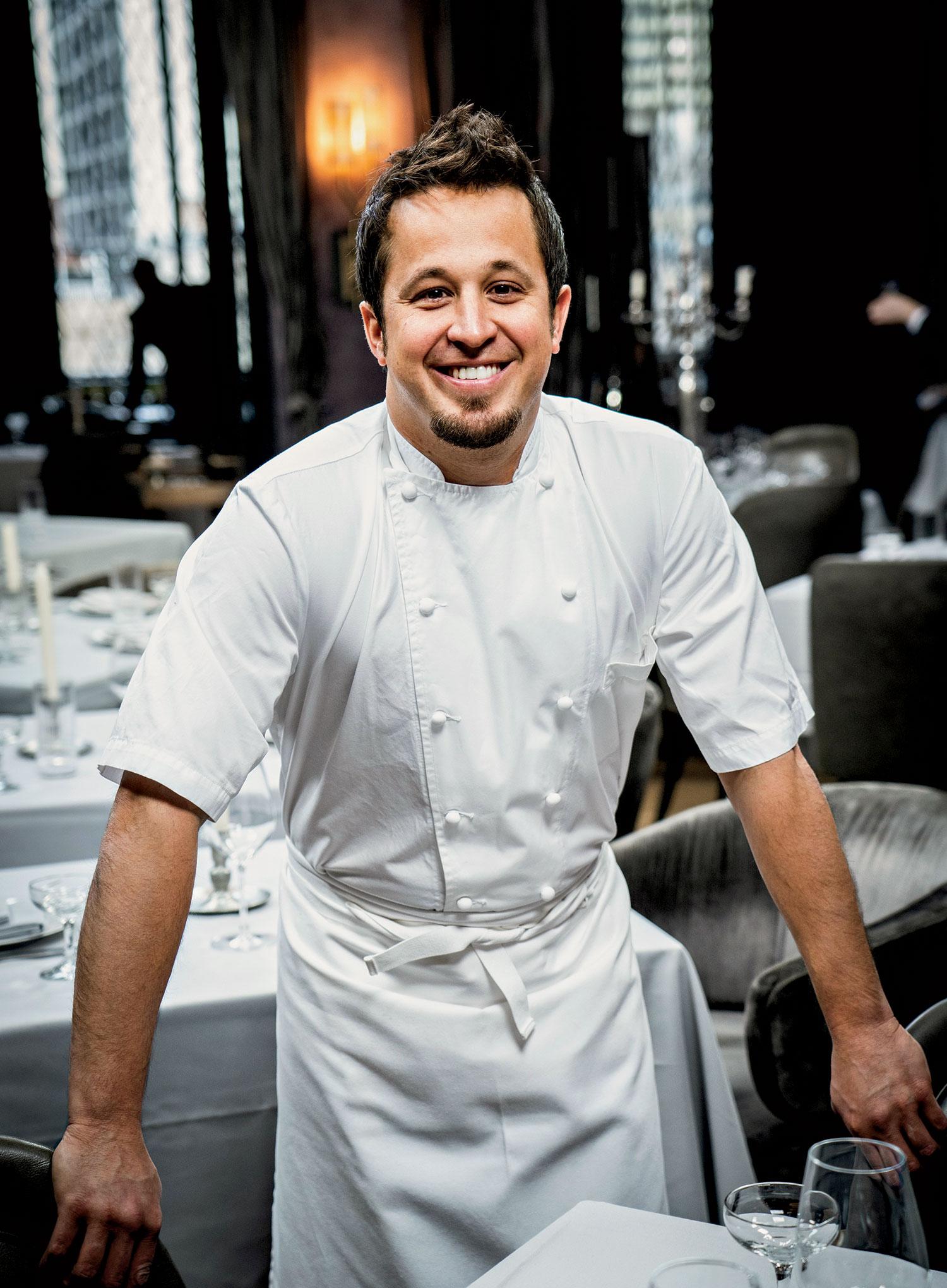 Chef Danny Grant of Maple & Ash; photo courtesy Maple & Ash