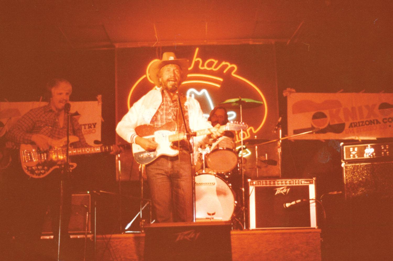 Buck Owens performs in Phoenix, 1980s