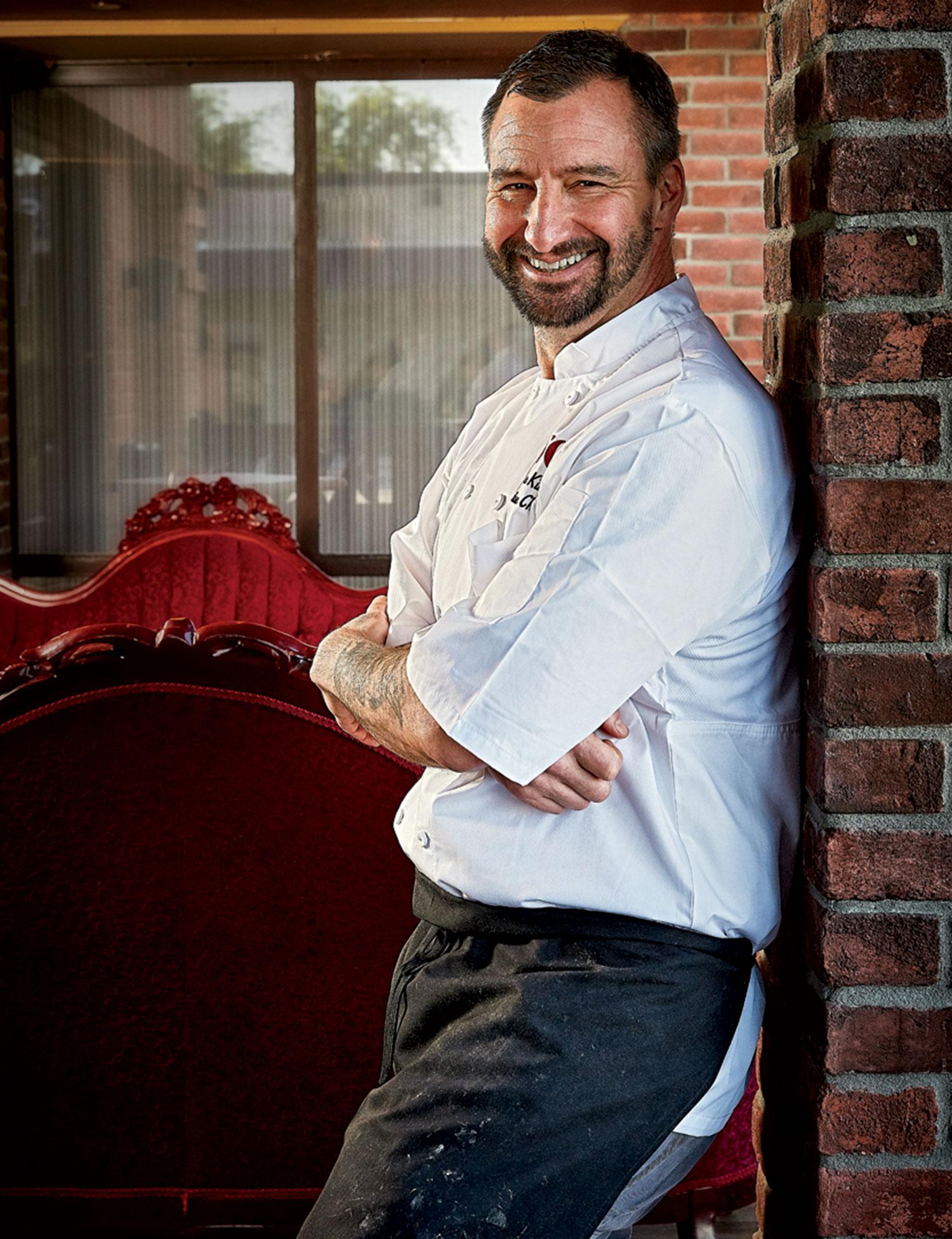 Chef James King