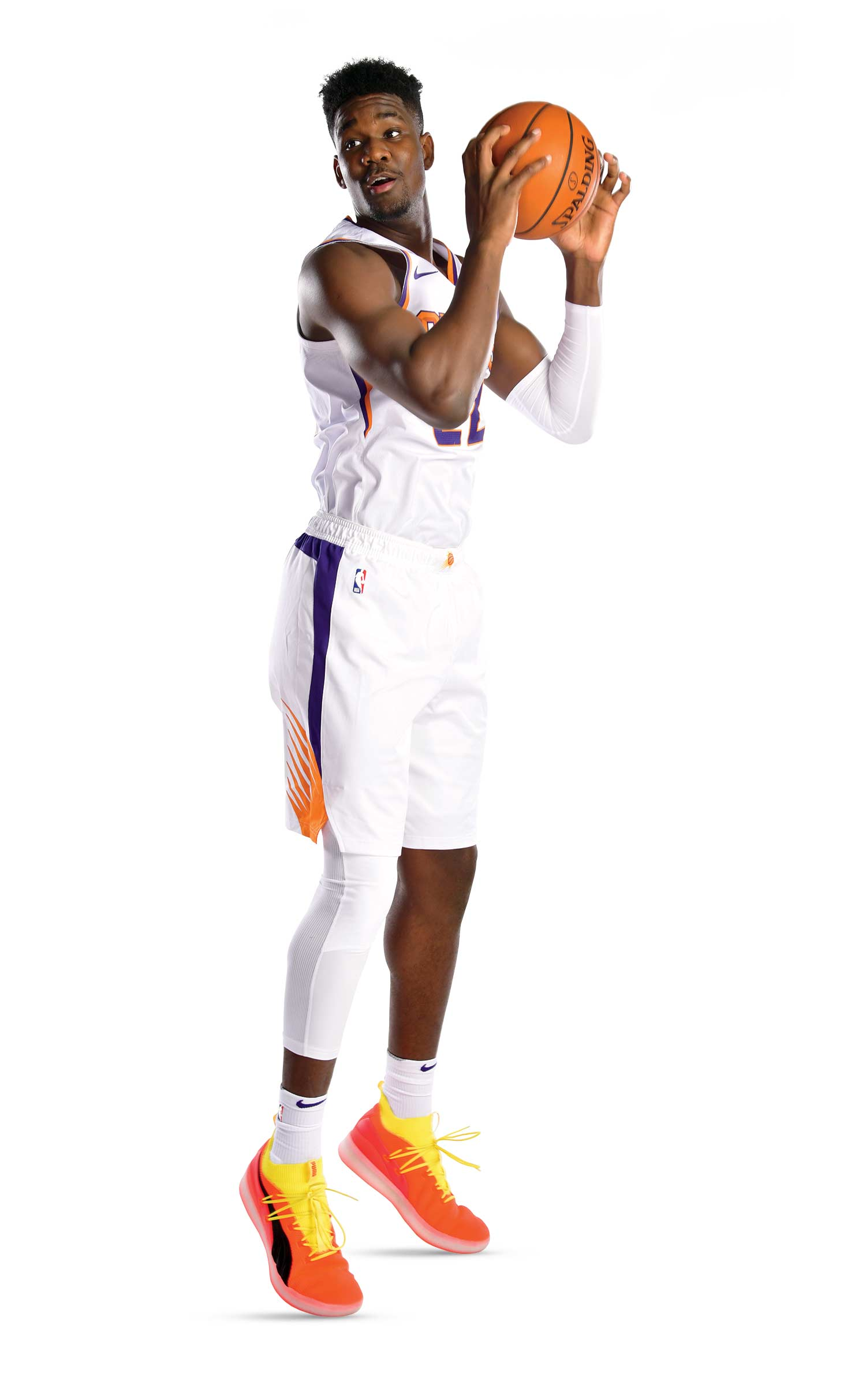 Photo by Barry Gossage, NBA/Getty Images; Hillcrest prep alum Deandre Ayton