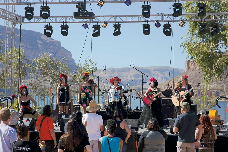 photo courtesy Apache Lake Music Festival