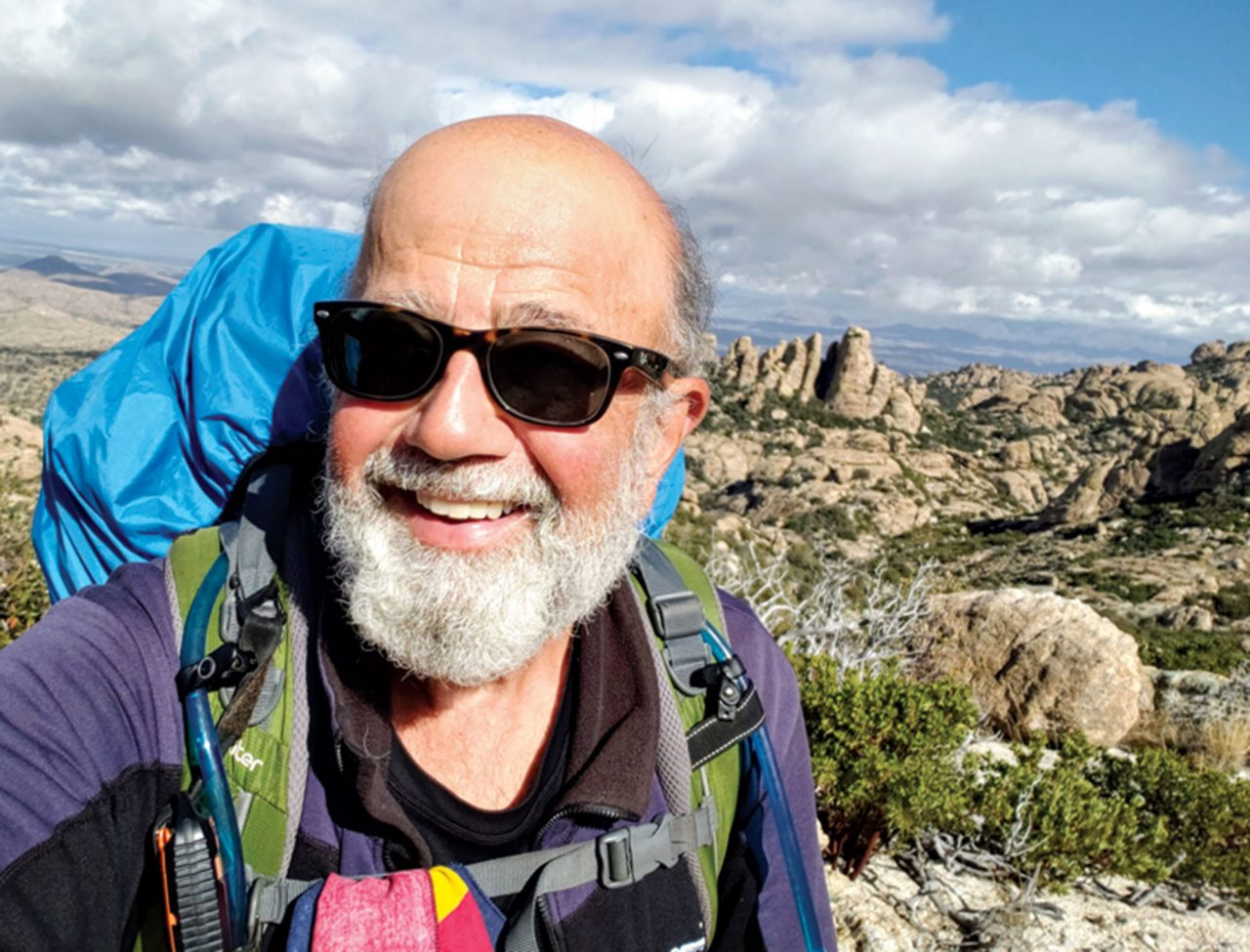 on the Arizona Trail in the Rincon Mountains south of Tucson