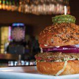 Mock-Meat Burger