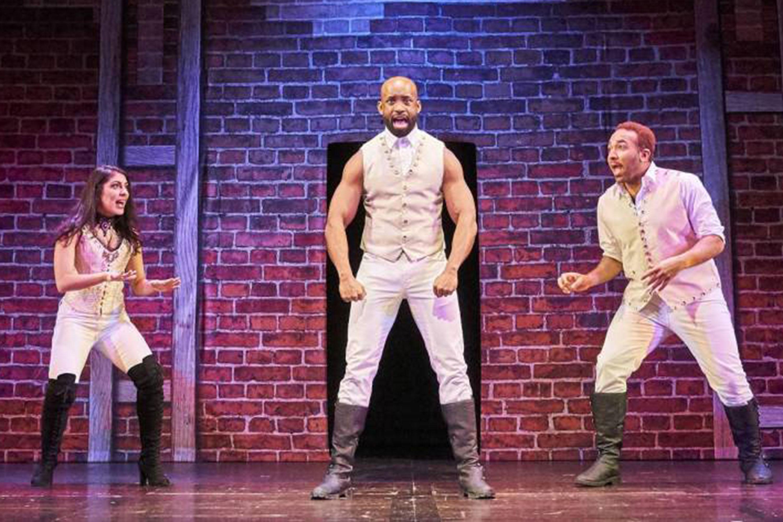 Spamilton: An American Parody, Through August 11; Photo courtesy Phoenix Theatre