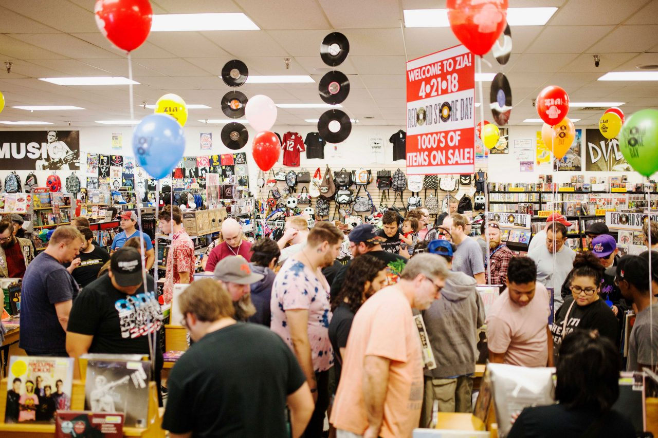 Record Store Day at Zia Records; Photo courtesy Awe Collective