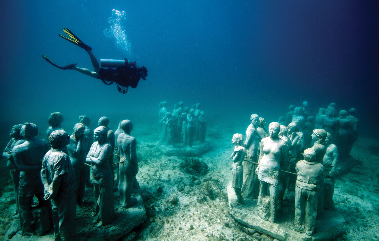 Photo courtesy Underwater Museum
