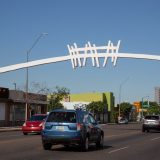 What is that White Arch Over McDowell Road?