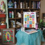 Inside Painter Denise Dominguez's Studio