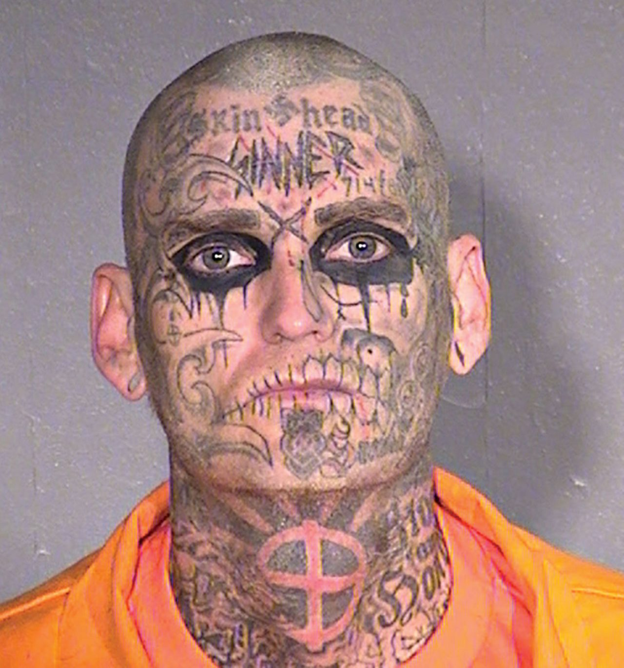 Neo-Nazi Chad Kerns; Photo Courtesy Arizona Department of Corrections