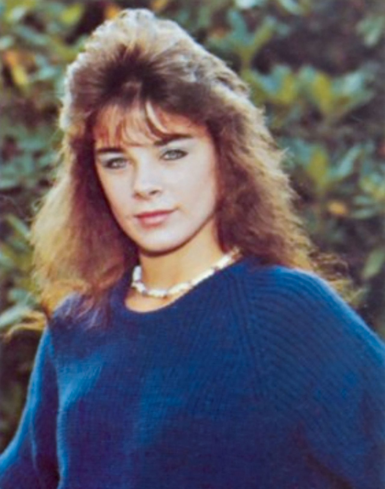 High school yearbook portrait of Kelley Jaeger, victim of Vinlander Travis Ricci; Photo Courtesy 1987 yearbook for Division Avenue High School in Levittown, NY
