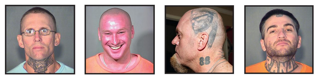From left: William Sherrill, David Bounds, Charlie Mullen and Aaron Levi Schmidt; Photos Courtesy Arizona Department of Corrections; Phoenix Police Department