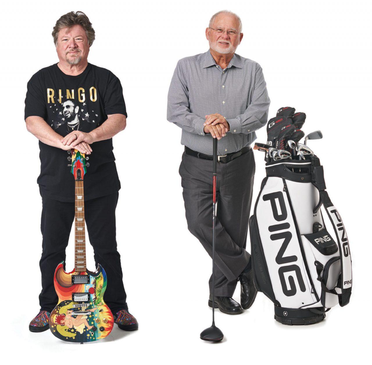 Left to right: Danny Zelisko, John A. Solheim; Photo by Camerawerks