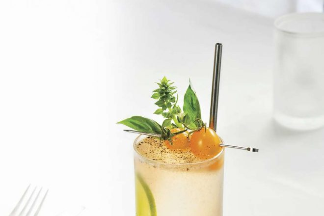 How To Make a Tomato Collins