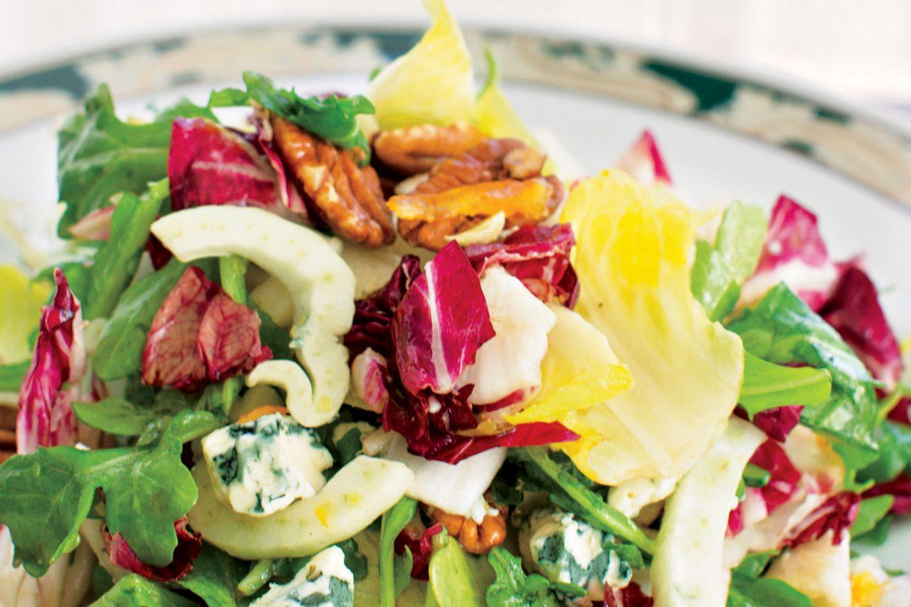 Bitter & Blue salad