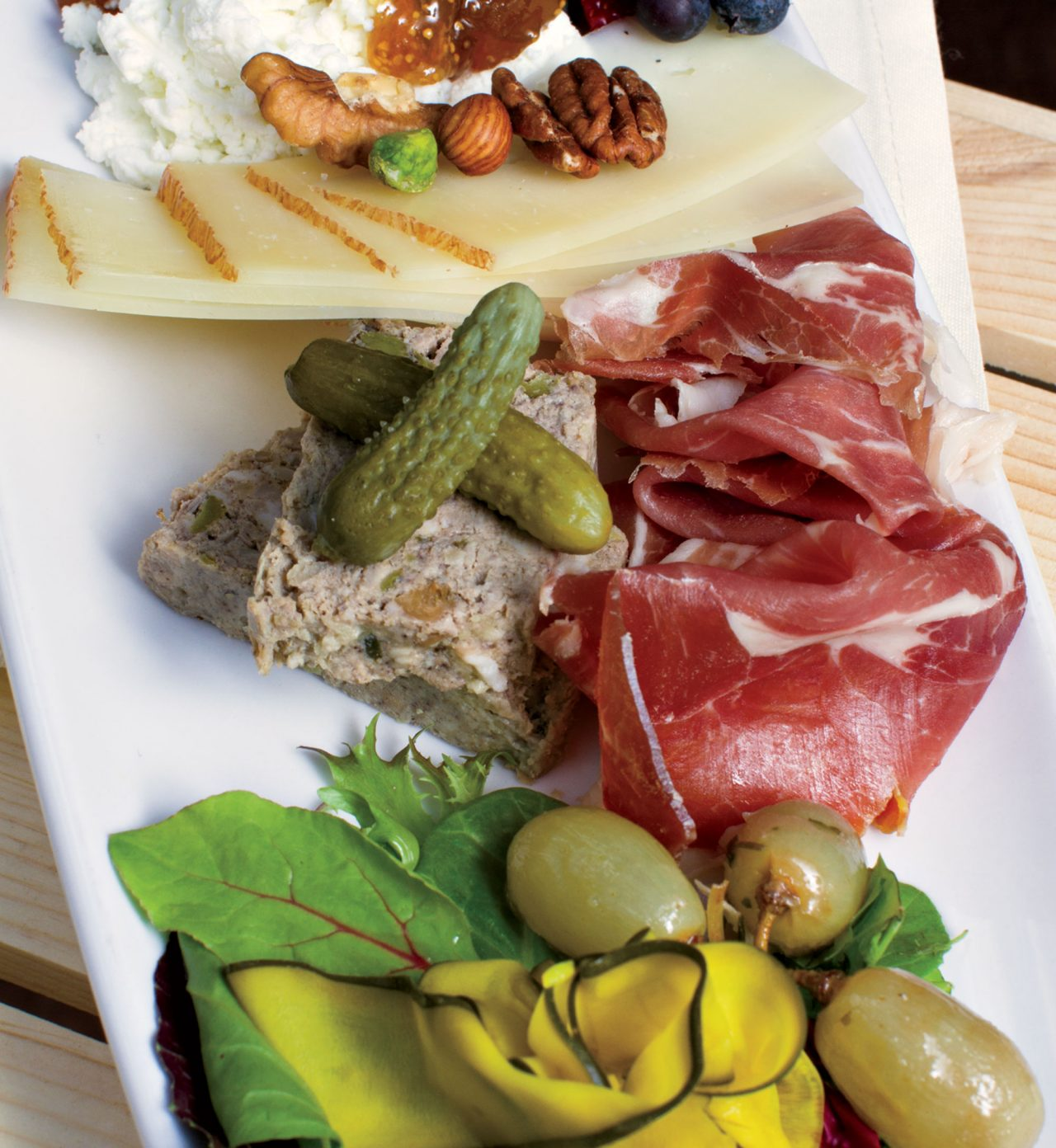 build-your-own cheese platter