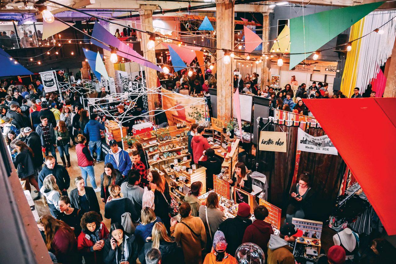 Portland Night Market; Photo by Jenna Haar