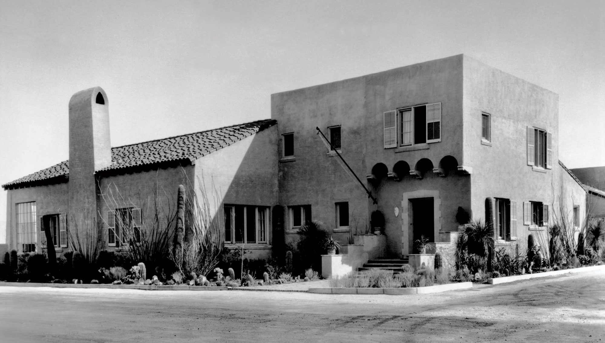 The Arizona Inn, 1932; Photo courtesy Arizona Inn
