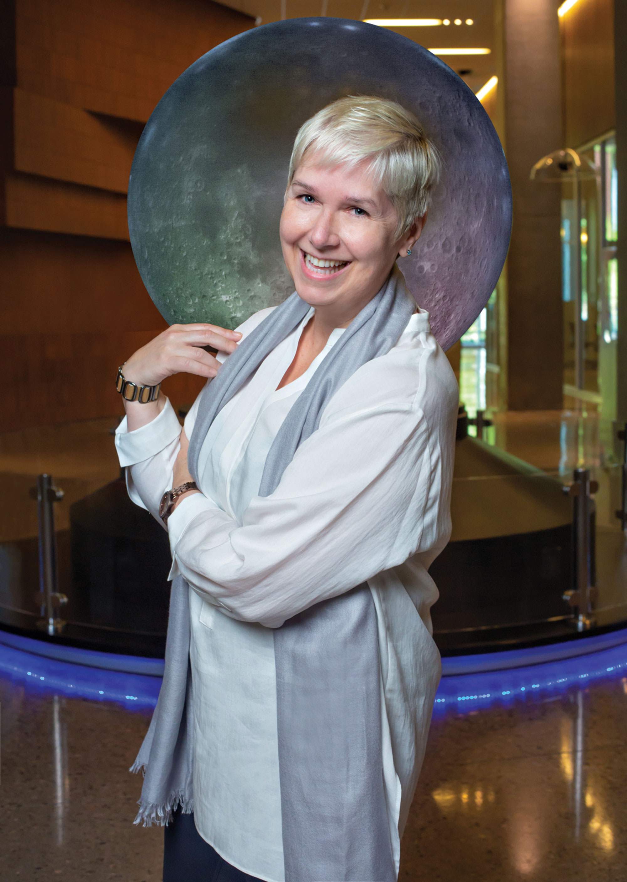ASU School of Earth and Space Exploration director Lindy Elkins-Tanton hopes to unlock the secret of the Earth's core with the Psyche mission, a collaboration with NASA; Photo by Carrie Evans