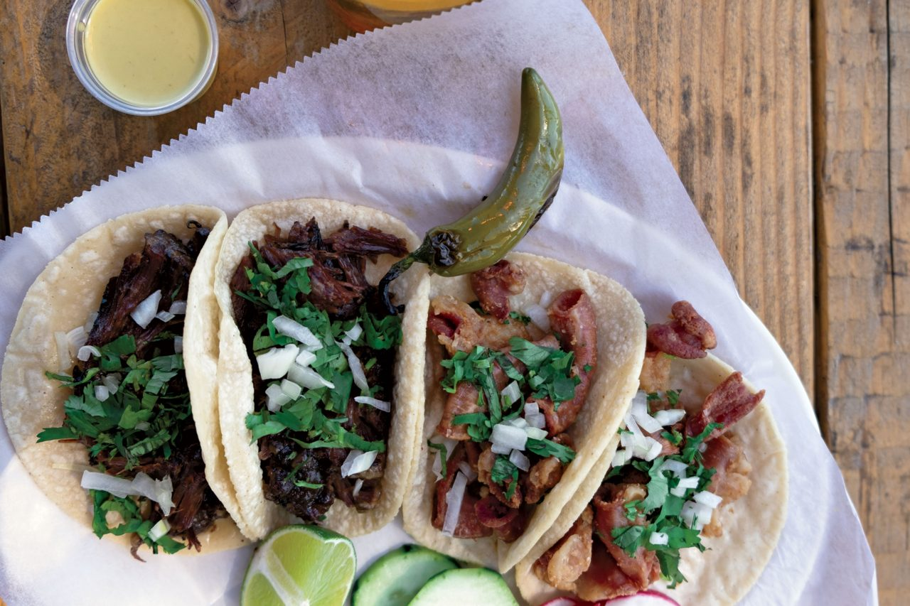 Tacos Chiwas; Photo by Eric Cox