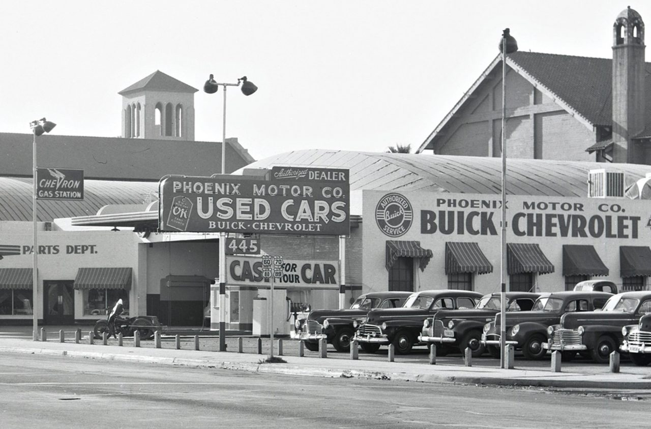 Phoenix Motor Company; Photo courtesy city of Phoenix Historic Preservation Office
