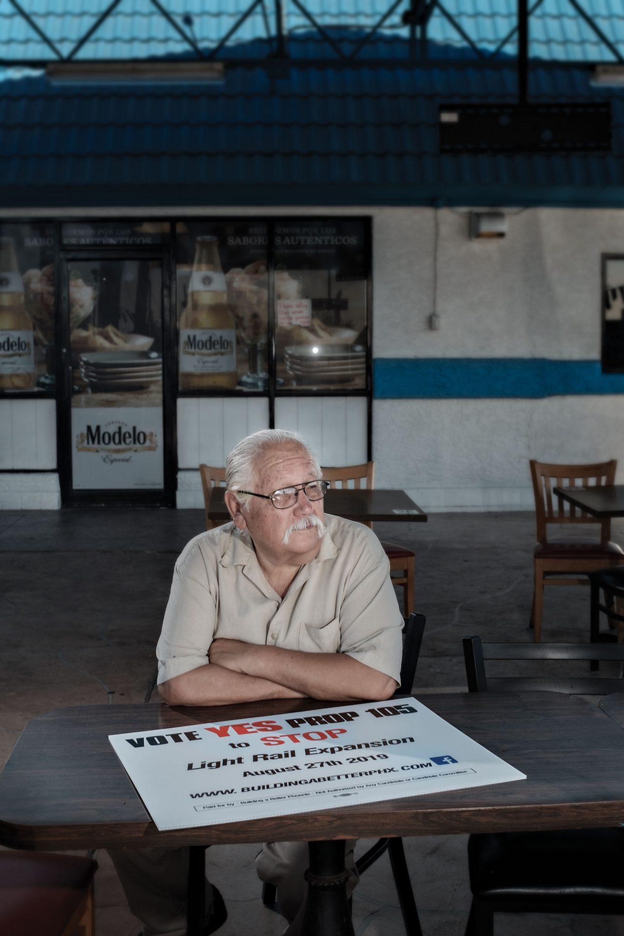 Activist Sal Reza