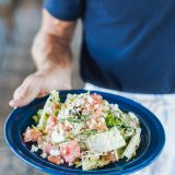 Recipe Friday: The Tomato and Watermelon Salad at Doughbird