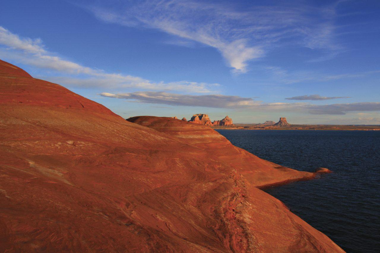 Padre Bay; Photo courtesy Antelope Point Marina