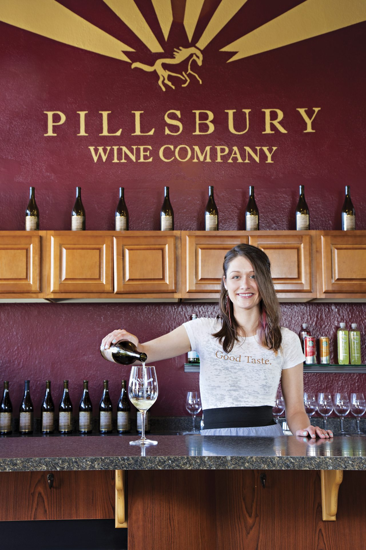 Pillsbury Wine Company; Photo by Richard Maack