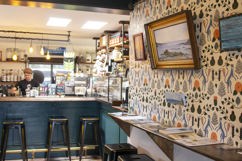 Talking Irons Coffee Saloon; Photo by Leah LeMoine