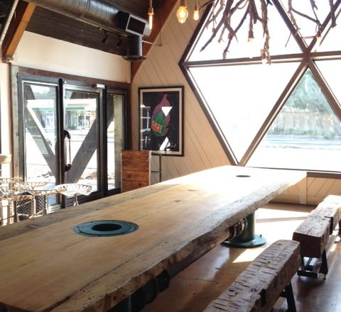 Persepshen Opens in the Former Hula's Modern Tiki Space