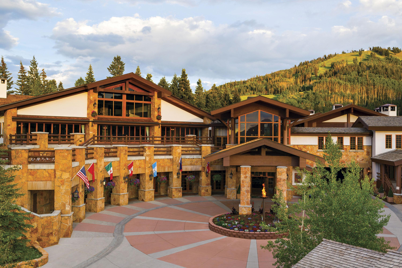 Stein Eriksen Lodge; Photo courtesy Stein Eriksen Lodge