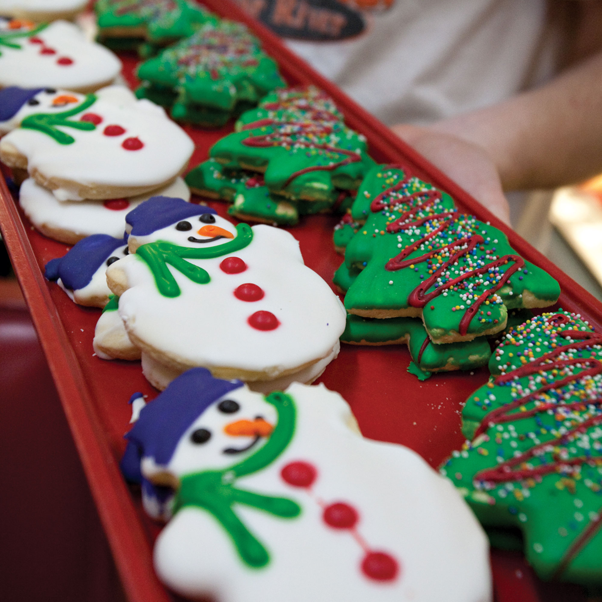 Christmas Cookies at Clear River; Photo by Trish McCabe-Rawls