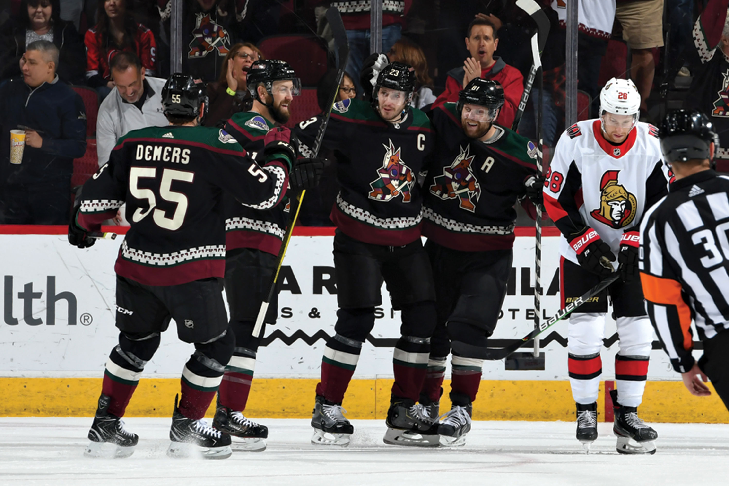Photos courtesy Arizona Coyotes