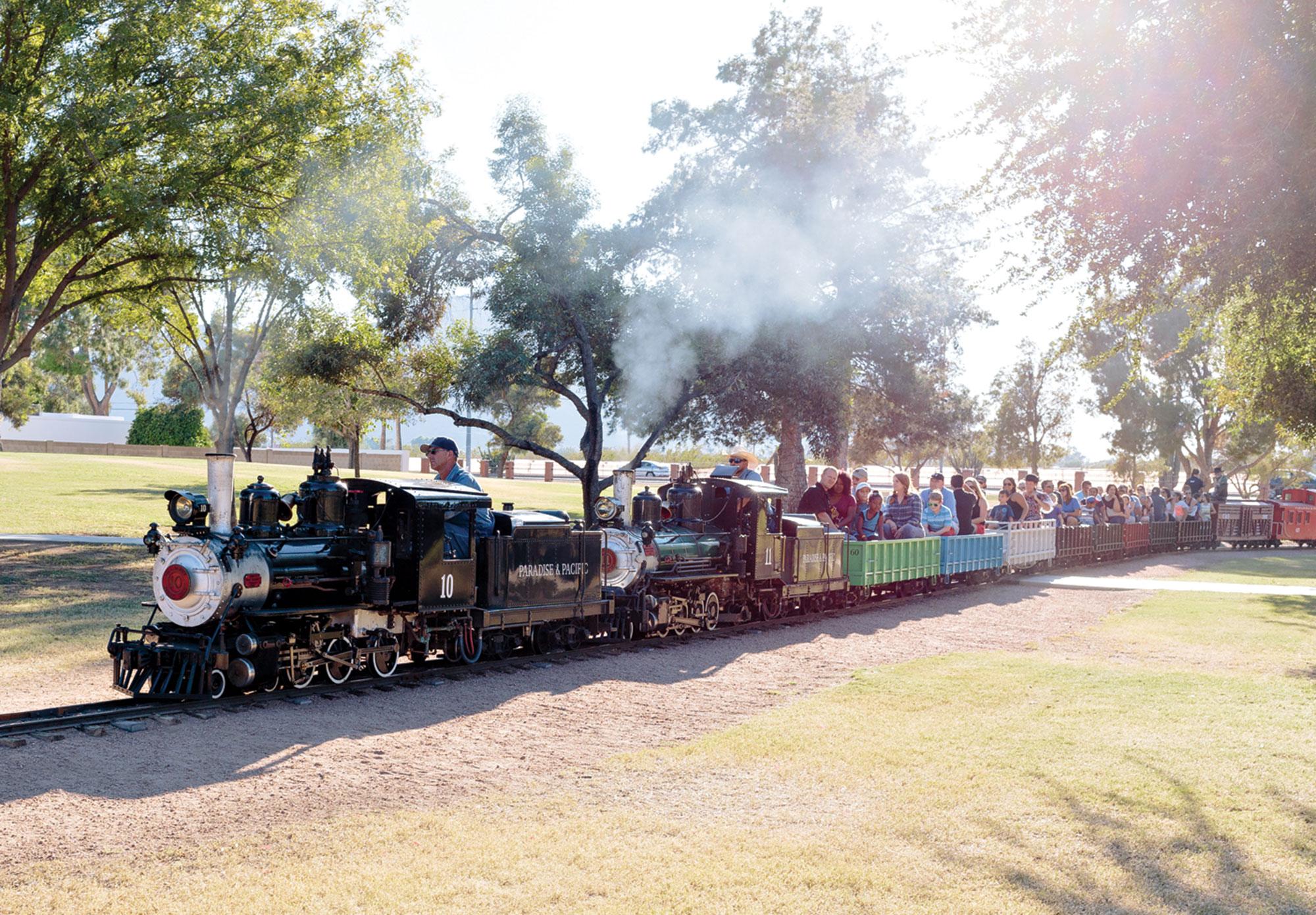 Photo courtesy Mccormick-Stillman Railroad Park