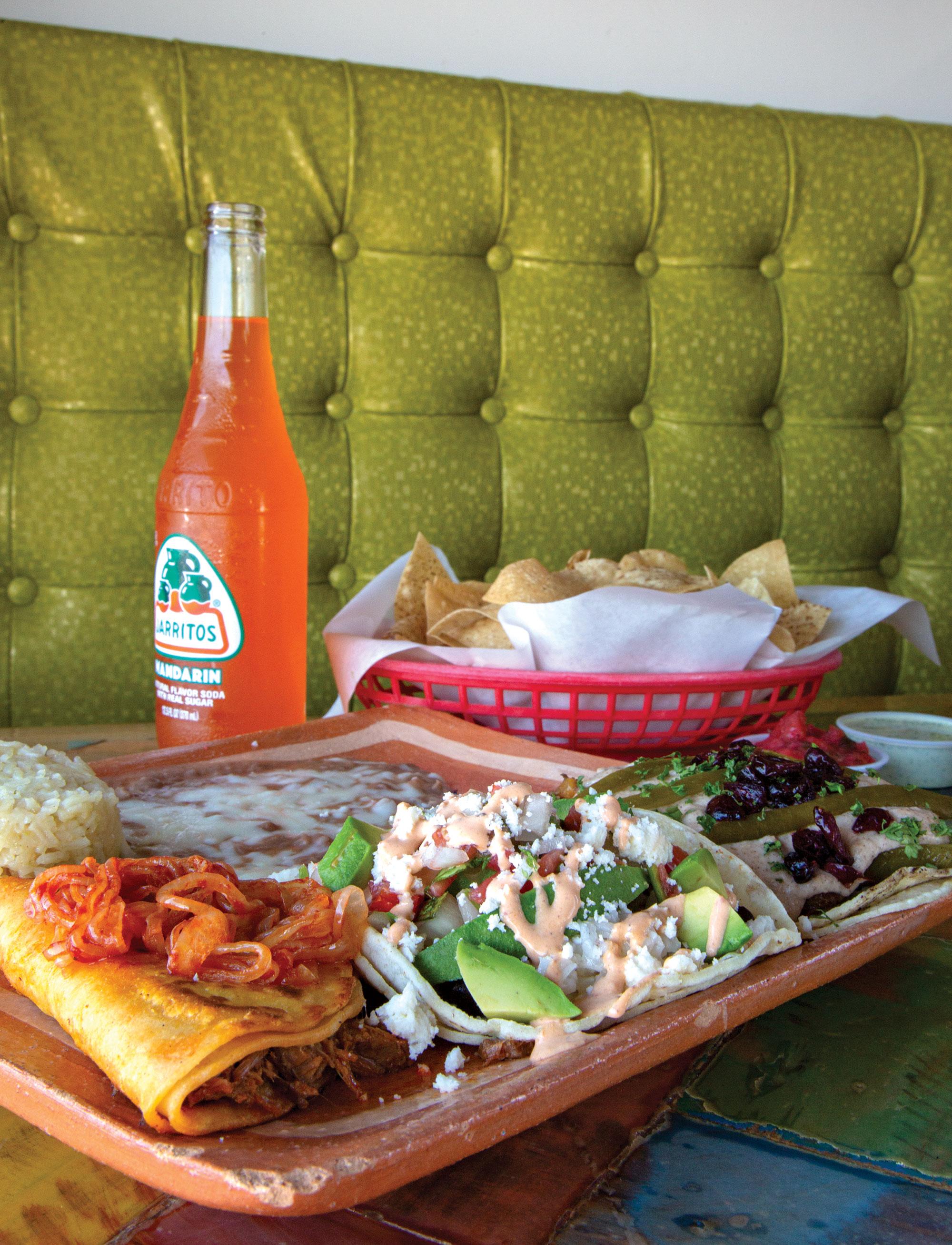 La Santísima Gourmet Taco Shop; Photo by Mirelle Inglefield
