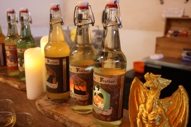 Scale & Feather is a new medieval-themed meadery in Avondale